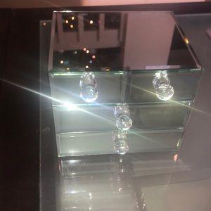 Other - Mirror Glass Jewlery Box